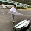 小川幸男のMFネオカーボン、Fireball1.5テスト、直さんはハモ新提案テールをテスト!