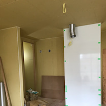 【上棟38日目】キッチン進捗&足場の記事に添付されている画像
