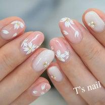 桜ネイルとグラデーション☆の記事に添付されている画像