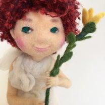 5月のデザフェス出展に向けて天使人形進化中の記事に添付されている画像
