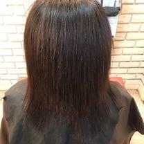 間違った縮毛矯正で髪が伸びなくる件の記事に添付されている画像