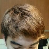 メンズ前髪カールストレート before afterの記事に添付されている画像