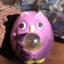 まんまる紫水晶ふくろう✨の記事に添付されている画像