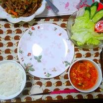 夕飯は、牛肉の焼き肉炒めの記事に添付されている画像