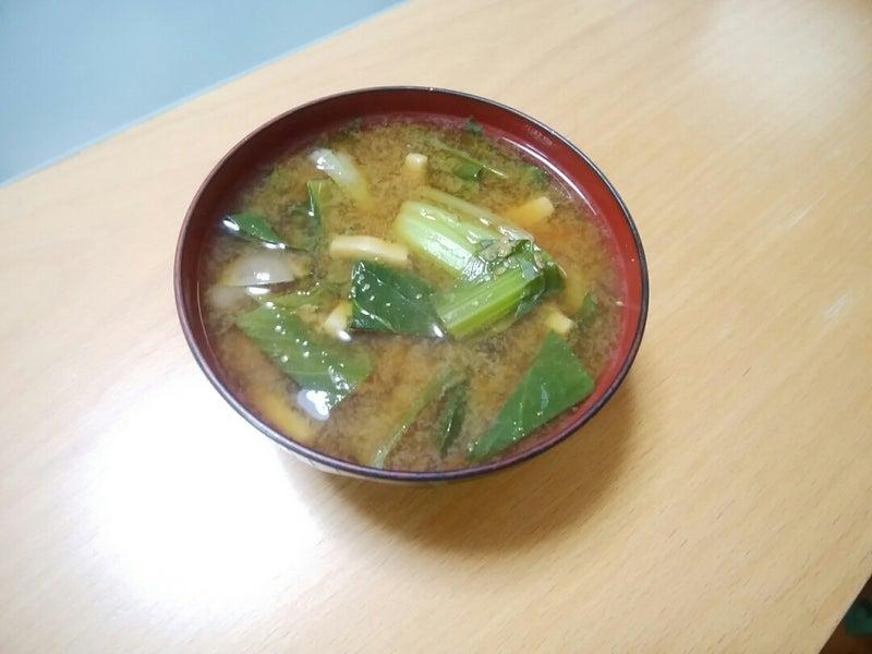 朝食の味噌汁