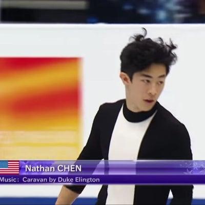 世界選手権男子SPネイサン首位!の記事に添付されている画像