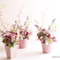 羽ばたく!ピンクのオンシジュームの退職祝いの花…の記事に添付されている画像