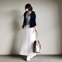 【GU】毎年完売になる大人気のGUアウター×お気に入りプリーツスカートの記事に添付されている画像