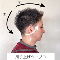 《ツーブロ刈り上げ×メリハリ×大人メンズスタイル◎》の記事に添付されている画像