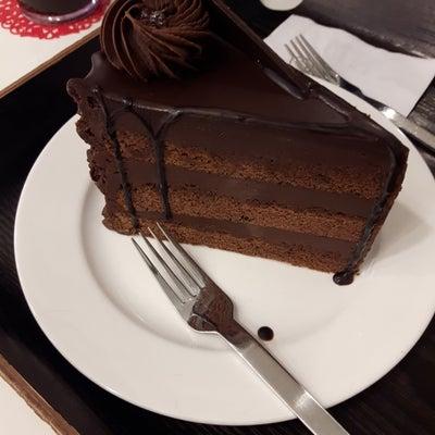 チョコケーキとラポッキの記事に添付されている画像