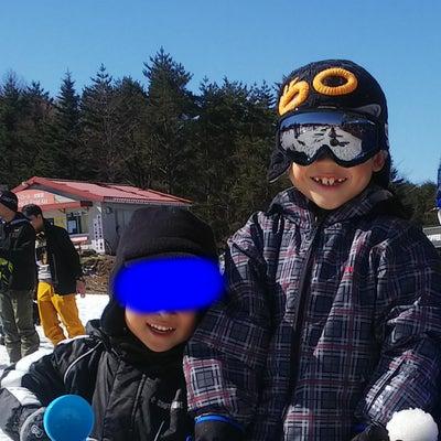 スキーの記事に添付されている画像