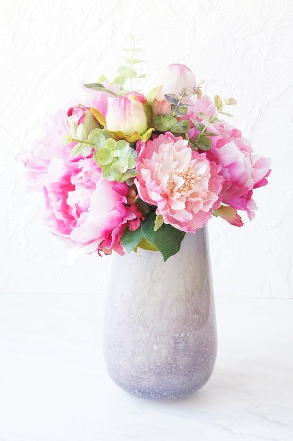 芍薬 新居に飾る花 花束 アートフラワー