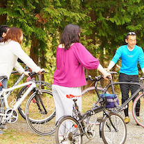 山の自転車講座×焚き火の記事に添付されている画像