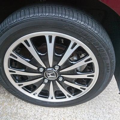 タイヤ交換の記事に添付されている画像