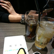 阪急からの祝杯☆*。の記事に添付されている画像