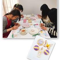 「上手には作れてないと思うけど かわいいアイシングクッキーが作れたことが満足♡」の記事に添付されている画像