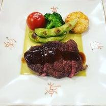 百か日の法要でしたステーキがおいしくてビックリ!#百か日の記事に添付されている画像
