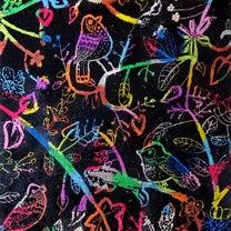 作品紹介 小学2年生 スクラッチアートの記事に添付されている画像
