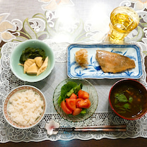 夕食の記事に添付されている画像