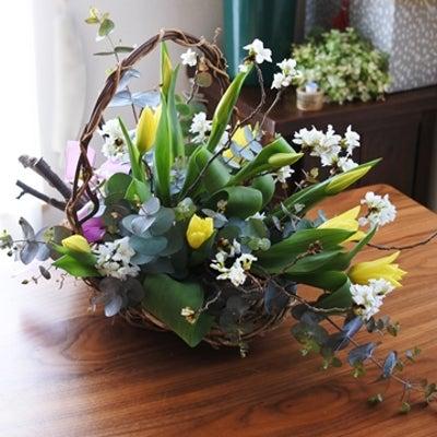 生花の楽しみは、色、香り、、そして部屋で植物観察ができること♪の記事に添付されている画像