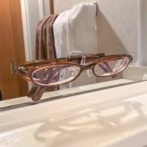 【セリア】鏡に貼るメガネ置き場♡さらばお風呂中のプチストレス!の記事に添付されている画像