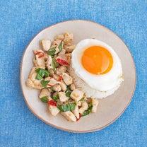 127円 鶏肉ゴロゴロガパオの記事に添付されている画像