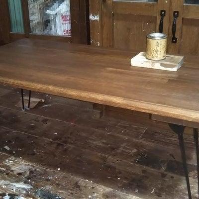 折りたたみテーブルの製作 R様ご依頼品の進捗状況3 完成です。の記事に添付されている画像