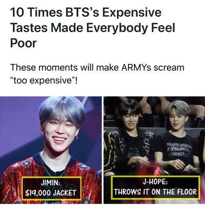 BTSはとんでもなくリッチ!の記事に添付されている画像