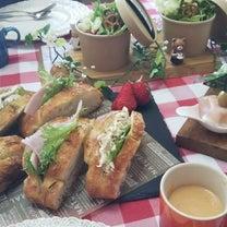 フォカッチャで美味しいサンドイッチ2種♪フライパンであんぱんのレッスン&ランチしの記事に添付されている画像