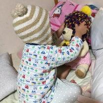 ぬいぐるみと娘ちゃんの記事に添付されている画像