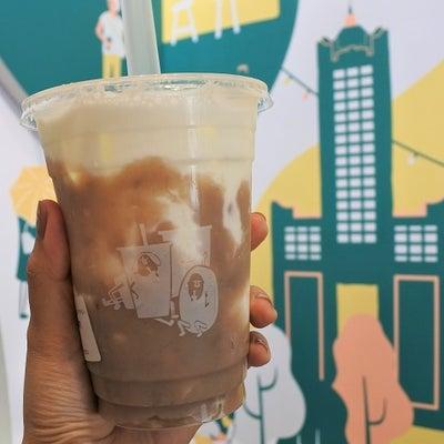 可愛いドリンク店で濃厚タロイモミルクが飲みたーい!「多良日常」@高雄・巨蛋の記事に添付されている画像