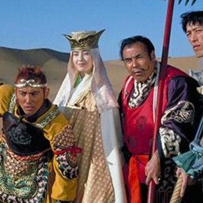 姫巫女の衣装、三蔵法師と一緒の記事に添付されている画像