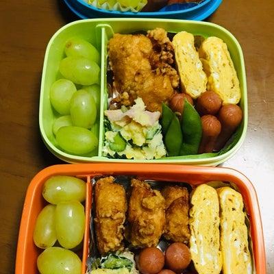 5時起き お弁当3人分❗️の記事に添付されている画像