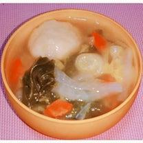 おから餅で『すいとん風スープ』(´︶`♡)の記事に添付されている画像