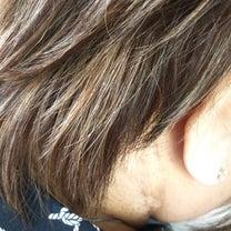 白髪にハイライトの記事に添付されている画像