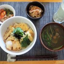 天丼と焼肉ランチプレートの記事に添付されている画像