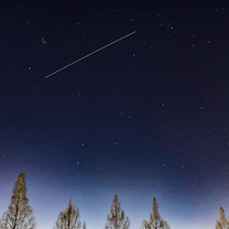 ISSの記事に添付されている画像