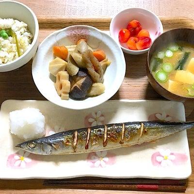 ポリフェノールたっぷりごぼう♪根菜とお魚定食^_^の記事に添付されている画像