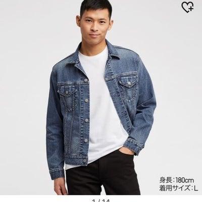UNIQLO MENSのデニムジャケット正解!!の記事に添付されている画像