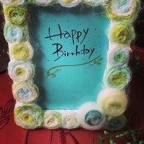 母の誕生日の記事に添付されている画像
