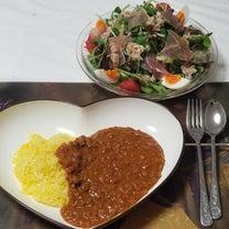 夕御飯の記事に添付されている画像