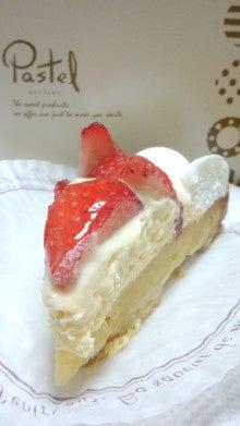 パステル_いちごケーキ