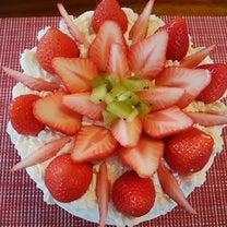 ダンナ初ケーキ作りの記事に添付されている画像