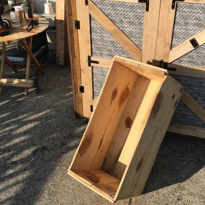りんご木箱でレイズドベッドの記事に添付されている画像