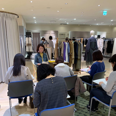 阪神百貨店でお客様セミナーの記事に添付されている画像
