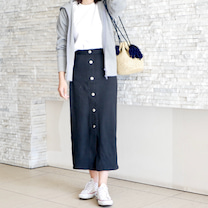 「やっぱり可愛い」良さを実感したGUスカート♡の記事に添付されている画像