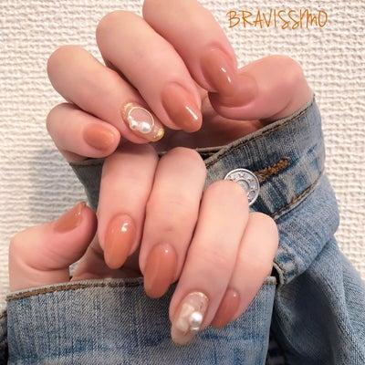 春色ベージュネイル☆の記事に添付されている画像