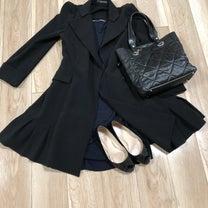 3/24のコーデ♡アガるコートで、春ブラックふたたび。の記事に添付されている画像