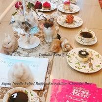 活躍される認定作家さんたち!日本うさぎ羊毛フェルト協会の記事に添付されている画像