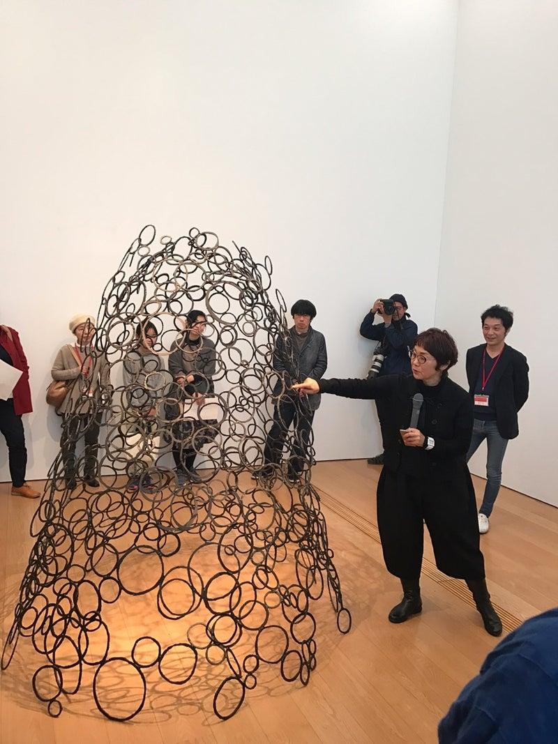 鉄彫刻家 青木野枝さんがすごい! | Manami 公式ブログ「日常の魔法」